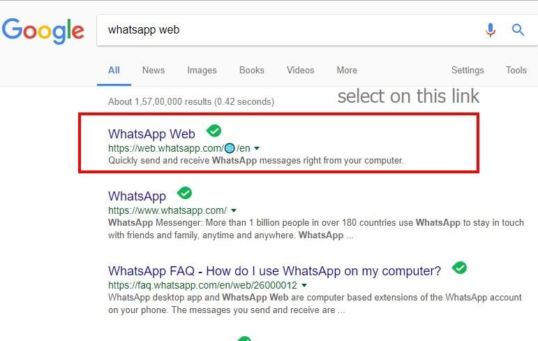 Free download WhatsApp messenger for laptop