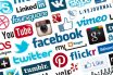 Social media sites like facebook